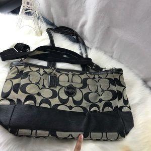 BEAUTIFUL COACH DIAPER BAG